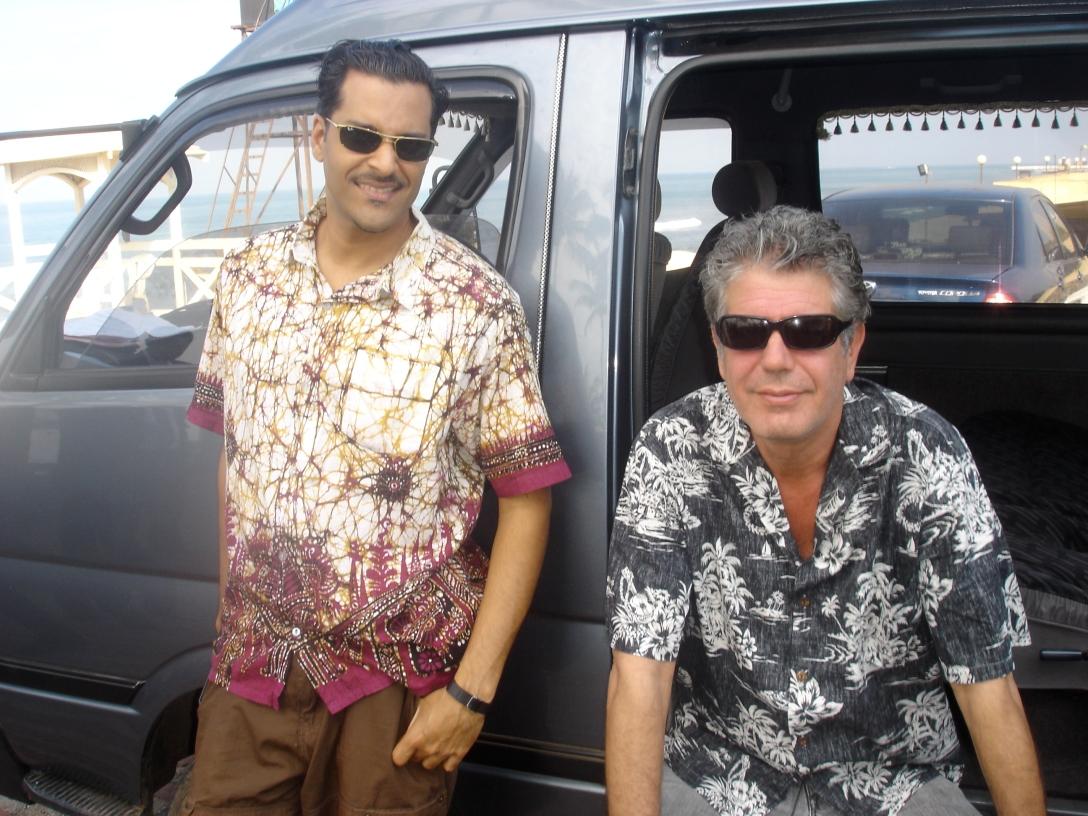 Skiz & Tony prepare for the next Sri Lankan chowdown