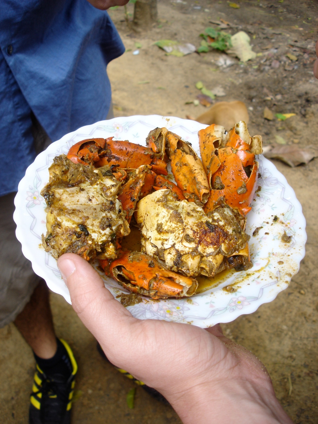 Leela's Chilaw Crab Curry