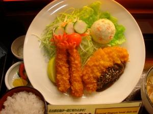 ebi (shrimp with panko breadcrumbs)