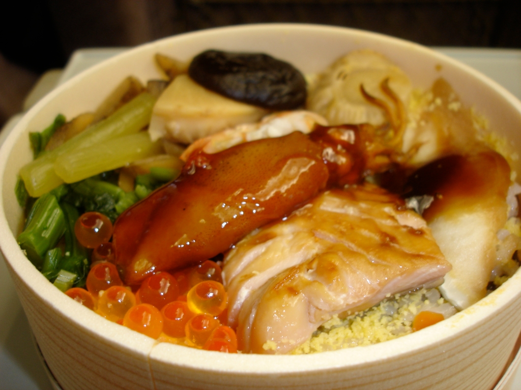 the seafood extravaganza bento bowl