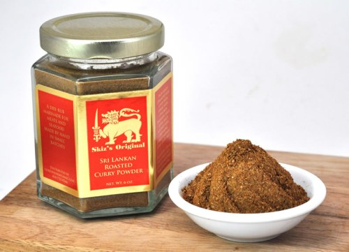 Skiz's Original Spice Blends  -- raw or roasted Sri Lankan curry powder