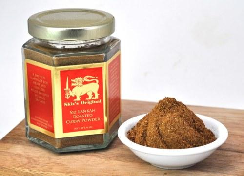 Skiz's Original Spice Blends  -- raw or roasted Sri Lankan curry powder