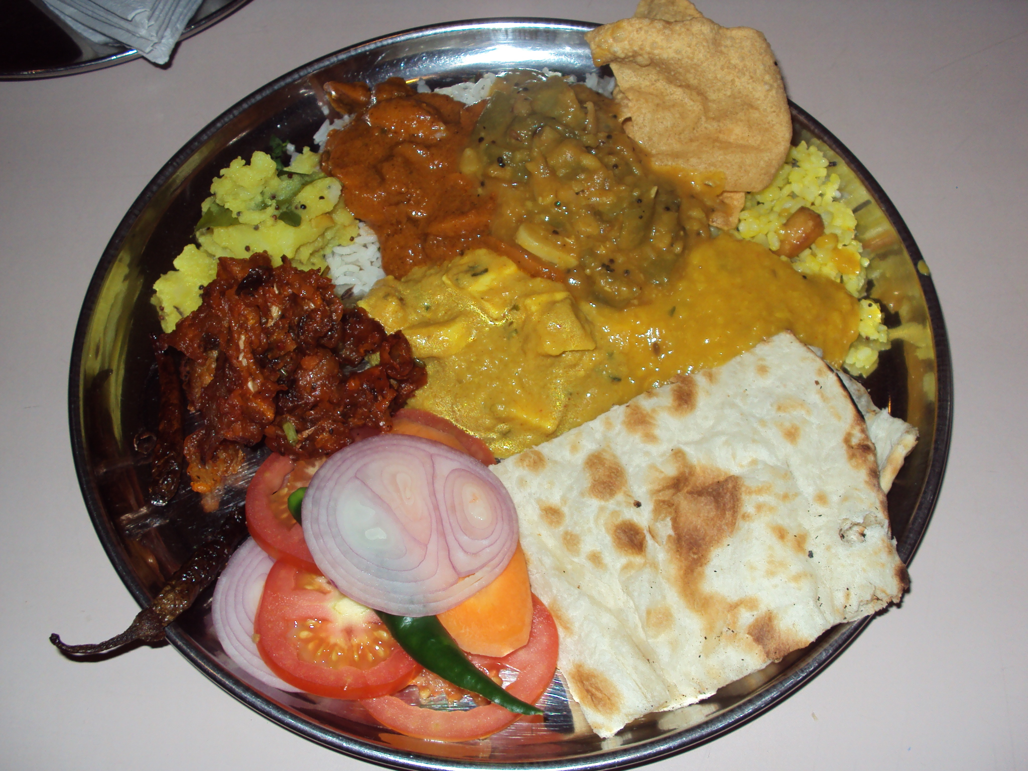 Mathura pure vegetarian cuisine rice curry a forumfinder Images