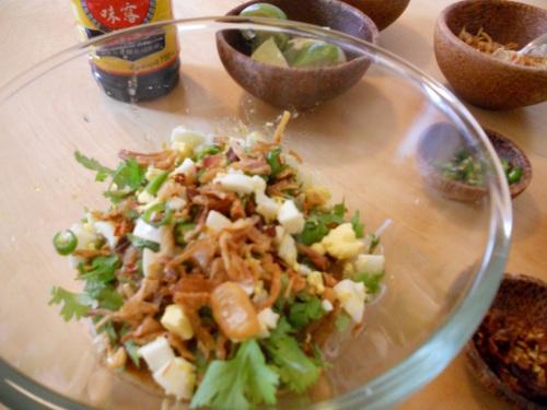 asian fish noodle soup