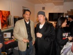 The author with Bill Laswell