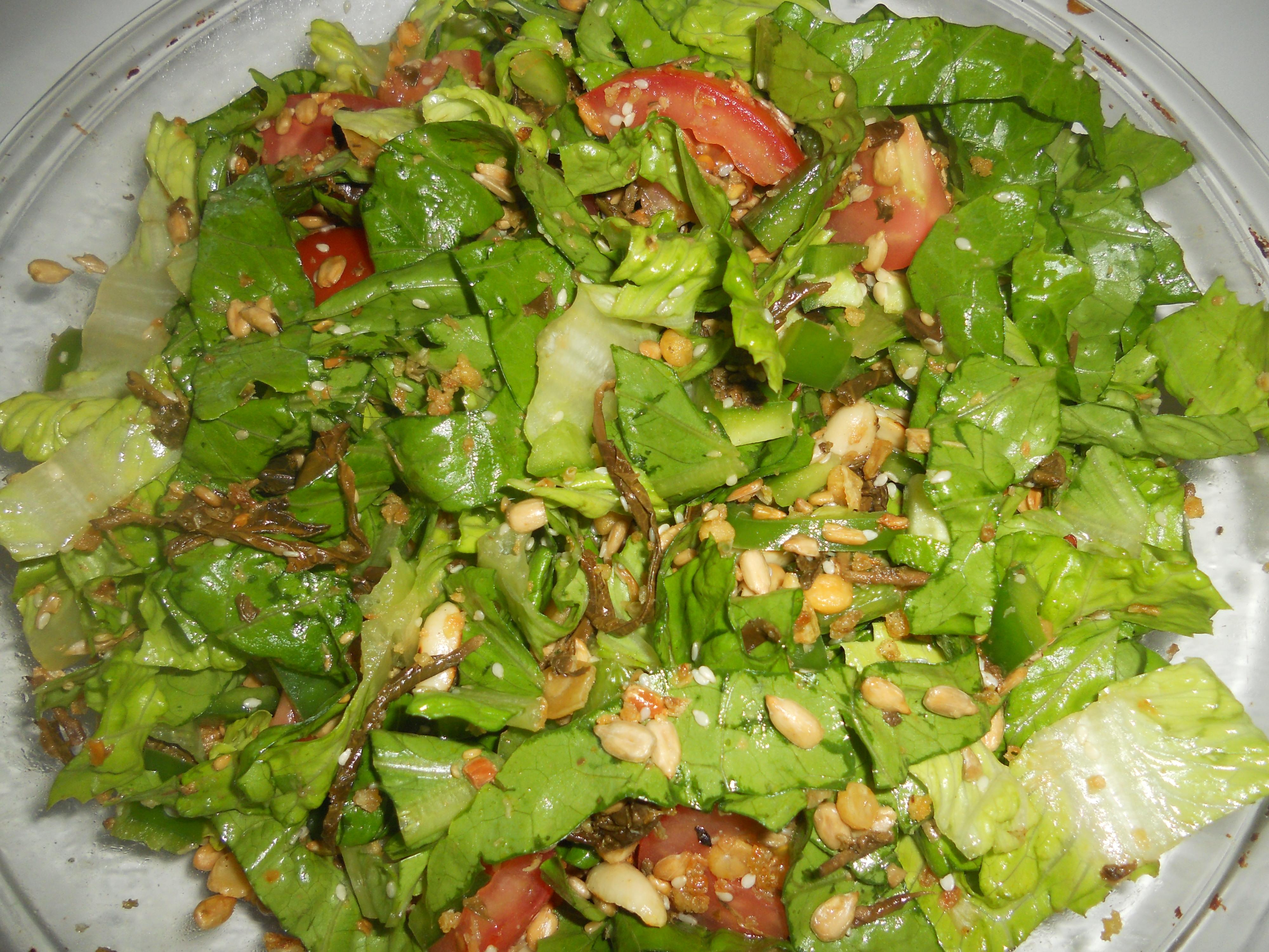 Pan asian pickled tea leaf salad laphet thote myanmar rice then forumfinder Images