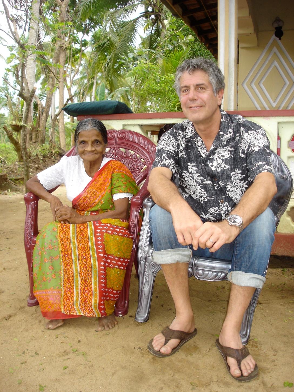 Leela with Tony B.