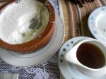 for dessert--curd with treacle