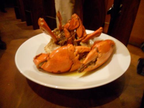 the main event -- chili garlic crab