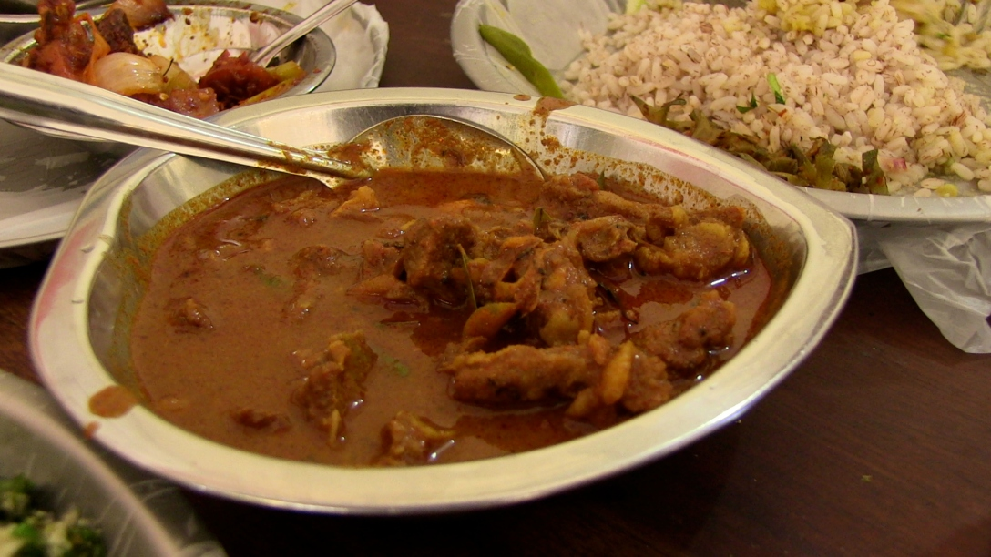 mutton (goat) curry