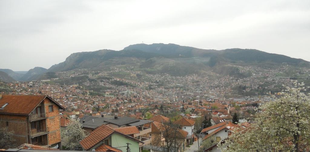 the view from Kibe Mahala