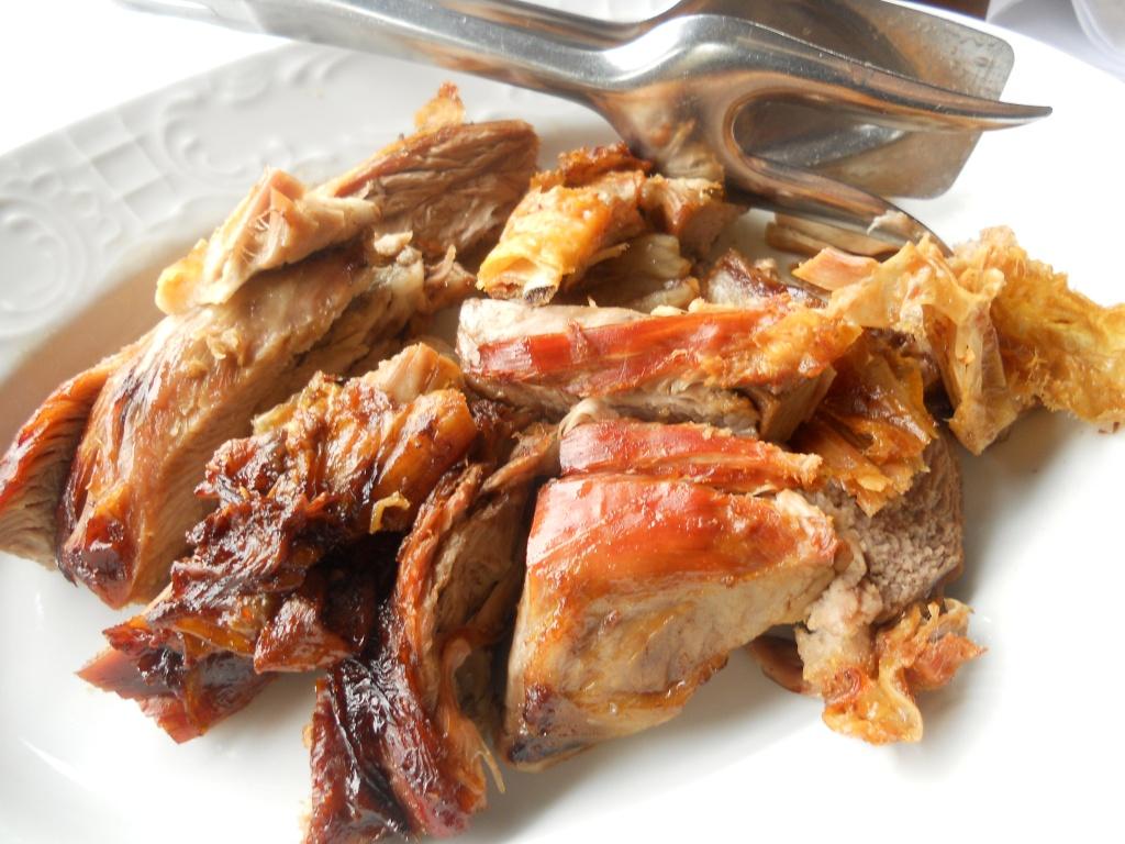 There's that roasted lamb again....Mmmmmm